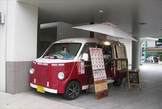 スティックアウト クレープ 移動販売車キッチンカー