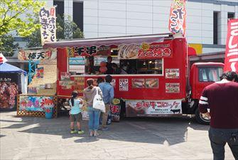 荒川屋-いすゞエルフ-車両画像1 移動販売車キッチンカー
