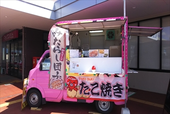 鉄板番長カヲルくん-車両画像1 移動販売車キッチンカー