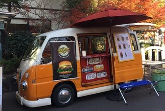 Big Buns バーガー 車両画像 移動販売車キッチンカー