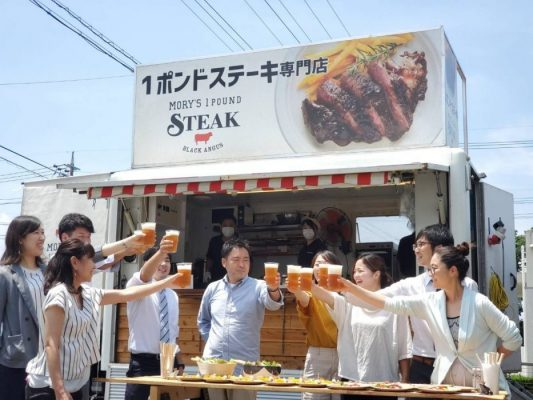 【ケータリング】キッチンカーによる屋外パーティー サービススタート!