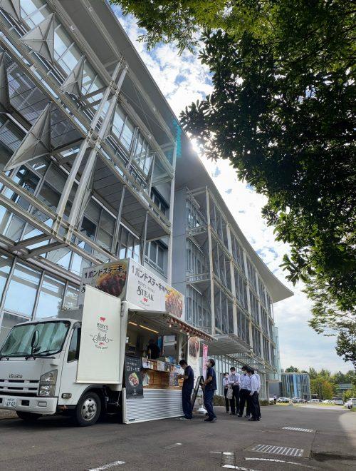 【ランチキッチンカー】オフィスランチ 移動販売 出店現場拡大中!